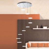 LED hanging lamp Jenni  10 light