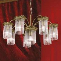8 light chandelier Diadema