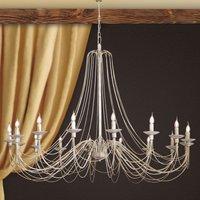 Beautifully curved chandelier Antonina  15 light
