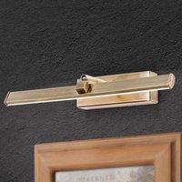 LED picture light Suren in antique brass  30 cm