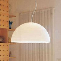 Opal glass hanging light Sonora  50 cm