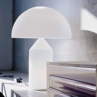 Table lamp Atollo with Murano glass  70 cm