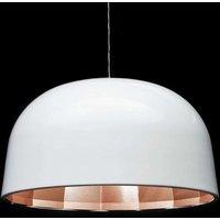 59 cm   LED hanging light Empty in white