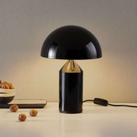 Oluce Atollo table lamp in black  35 cm