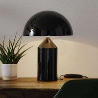 Oluce Atollo   elegant designer table lamp  black