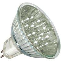 GU5 3 MR16 1W LED reflector bulb warm white