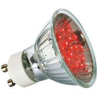 Paulmann GU10 LED reflector bulb 1 W red