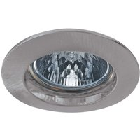Premium SECURE LV installed lamp  brushed iron