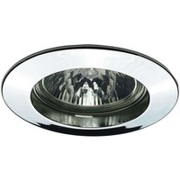 Premium SECURE LV installed lamp  chrome
