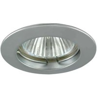 Low volt recessed spotlight ENKEL alu matt
