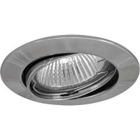 High volt recessed spotlight MAL chrome