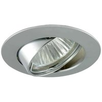 Variable high volt recessed spotlight MAL alu matt