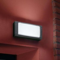 Modern outdoor wall lamp BLIZ RING  anthracite