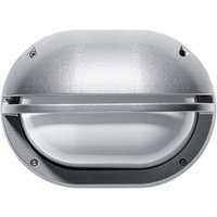 Outdoor wall lamp Eko with cover grey