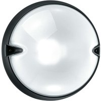 Round outdoor wall lamp CHIP grey