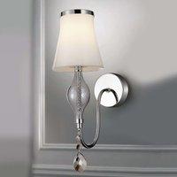 Elegant wall light Maxima Vetro