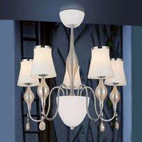 Five bulb chandelier Maxima Vetro
