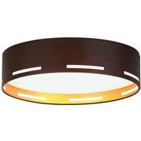 Modern LED fabric ceiling lamp Omnia  90 cm