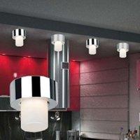 Small chrome ceiling light Viper