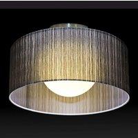 Exclusive black ceiling light Ganzo 90 cm