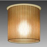 Brown ceiling light Ganzo  diameter 20 cm