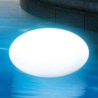 Luminous egg with RGB LEDs for fantastic light