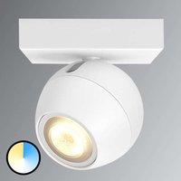 Philips Hue Buckram LED spot in white  extension