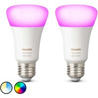 Philips Hue White   Color Ambiance 9W E27  2x