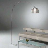 GRATA floor lamp  metal with marble base
