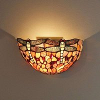 Livella wall light in the Tiffany style