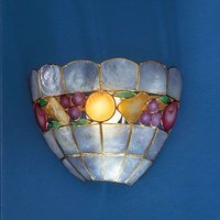 OLIVIA wall light  mother of pearl with decoration