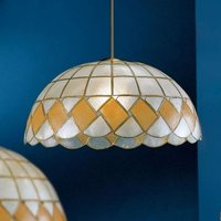 Ashton pendant light  mother of pearl  40 cm