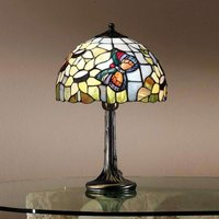 Viktoria table lamp in the Tiffany style
