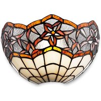 Krissy wall light in the Tiffany style