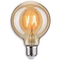 E27 2 5W 817 LED globe lamp G95 in gold