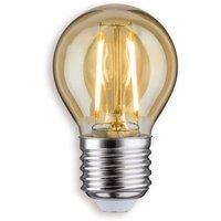 E27 2 5 W 825 LED golf ball bulb gold
