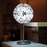 Coral designer table lamp with LED  clear