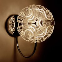 Spherical LED wall light Coral