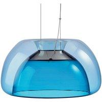 Colourful LED hanging light Aurelia blue