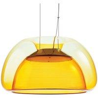 Colourful Aurelia LED hanging light  orange