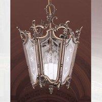 Lantern shaped hanging light PILAR
