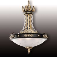 Tudor pendant light with Asfour crystals