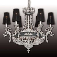 Graceful crystal chandelier Henry