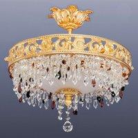 Fantastic crystal ceiling light San Petersburgo