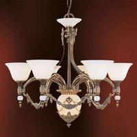 7 bulb chandelier Prestige