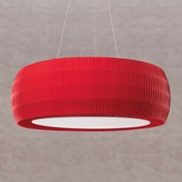 Red LED pendant light Maxi Wheel