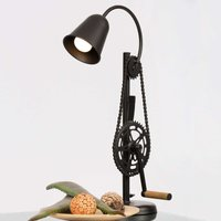 Moving table lamp Catena in black