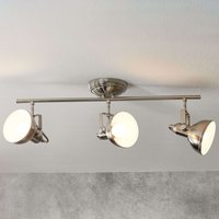 3 Light Gina ceiling light  industrial look
