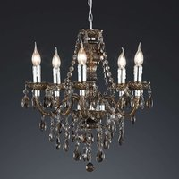 Sparkling Perdita chandelier  black