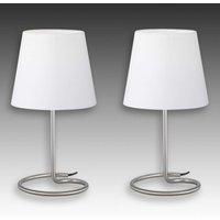 Twin   modern table lamp set